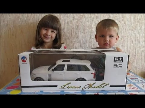 Машинка на пульте управления, испытание радиоуправляемой машинки, Game Cars on the remote control