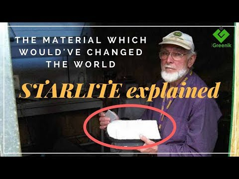 Starlite ; The Mysterious Material Which Withstood 75 Hiroshimas