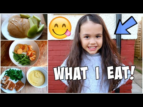 WHAT A 7 YEAR OLD VEGAN KID EATS!? **Iris**