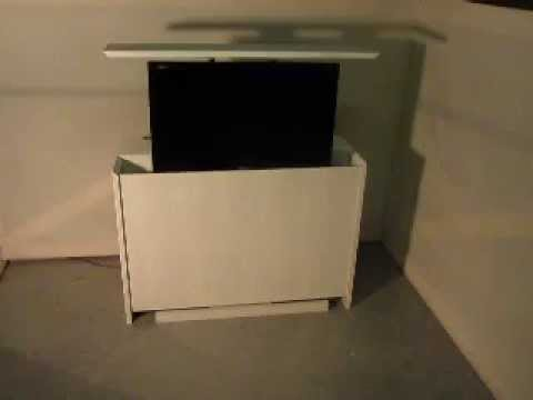 Tv Lift Meubel Ikea.Tv Lift Bed Of Slaapkamermeubel Youtube