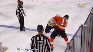Wayne Simmonds vs Kevan Miller. December 2, 2017