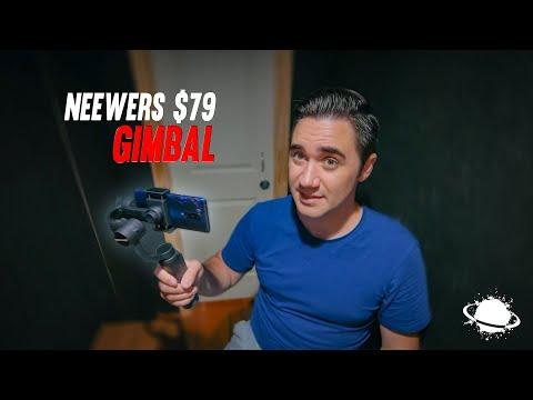 The Neewer S5B 3-Axis Phone Gimbal