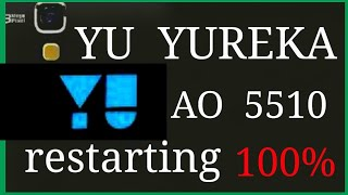 Yu yureka AO5510 restart on/off solution. || Yu yureka ao5510 battery reapair   1000% //