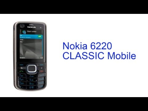 Nokia 6220 CLASSIC Mobile Specification [INDIA]