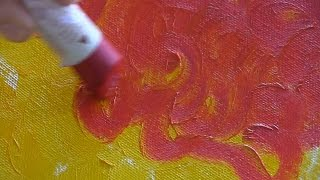 Painting Techniques with Sennelier Oil Sticks