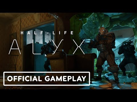 Half-Life: Alyx – Official Gameplay Trailer #3 (Combine Shootout)