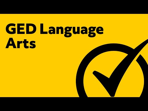Amazing GED Language Arts [2018] Study Guide