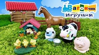УЧИМ ЖИВОТНЫХ: ферма.