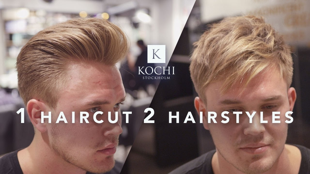 Menu0027s Hairstyles 2 In 1 Haircut . Hair Inspiration.   YouTube