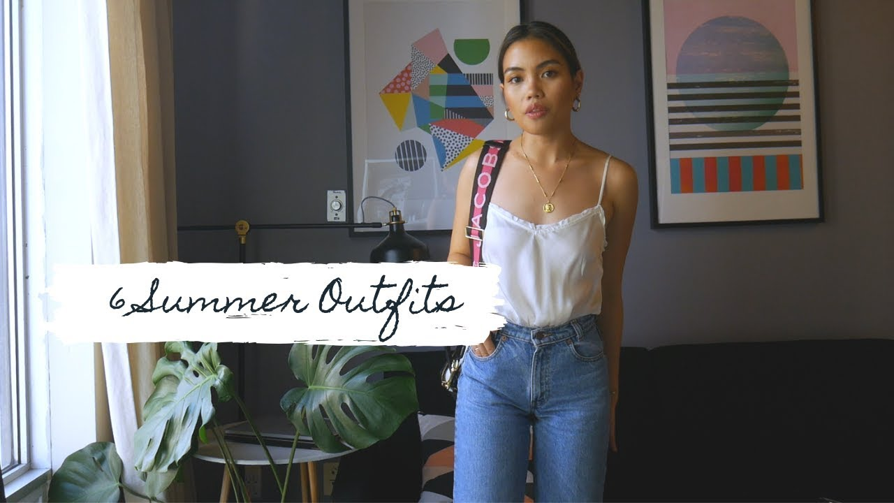 [VIDEO] - Petite Please | Summer Outfits - White Top | Thrifted, Aritzia, Winners,etc. 2