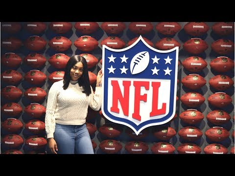 CAN I JUMP LIKE ODELL?!? |NFL EXPERIENCE TIMES SQUARE VLOG|