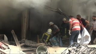 براميل النظام تدمر مشافٍ في مدينة حلب وتخرجها من الخدمة