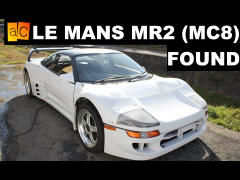 Le Mans MR2 (MC8) Found In Japan