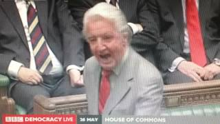 Dennis Skinner MP attacks David Laws MP