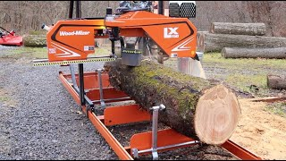 #650 Milling a BEAUTIFUL Cherry, This one was almost left over the Hill!