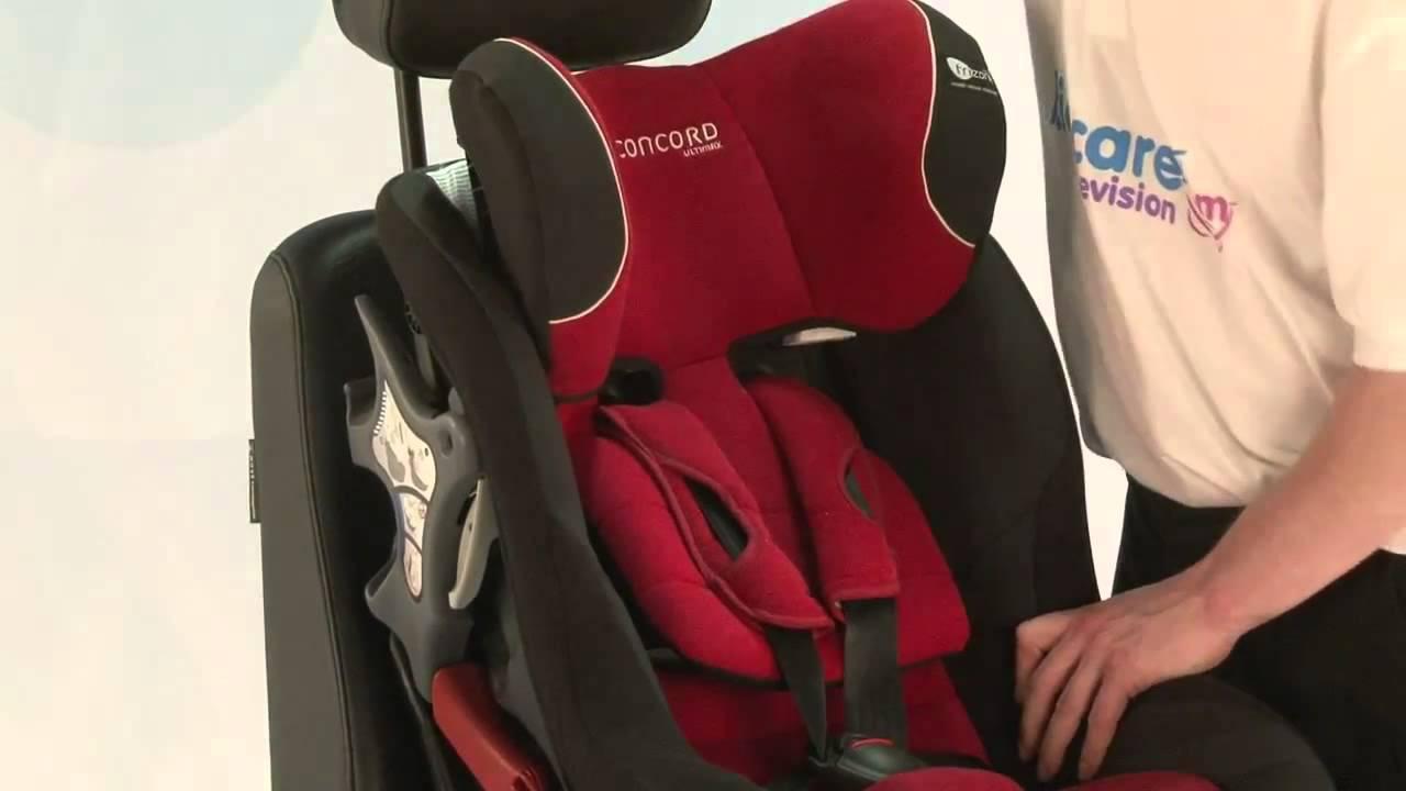 concord scaun auto ultimax isofix youtube. Black Bedroom Furniture Sets. Home Design Ideas