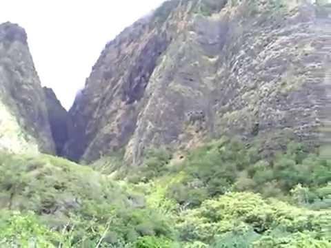 Iao Needle Panorama, Maui, Hawaii