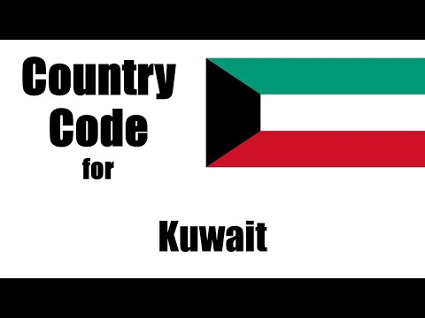 Kuwait Dialing Code - Kuwaiti Country Code - Telephone Area Codes In Kuwait