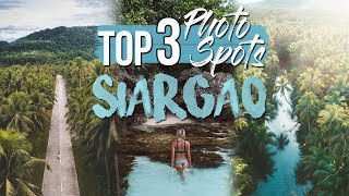 TOP 3 PHOTOGRAPHY SPOTS IN SIARGAO (INSTAGRAM DREAM)