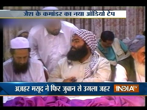 JeM Chief Masood Azhar Releases Audio Tape after Terrorist Attack in Peshawar