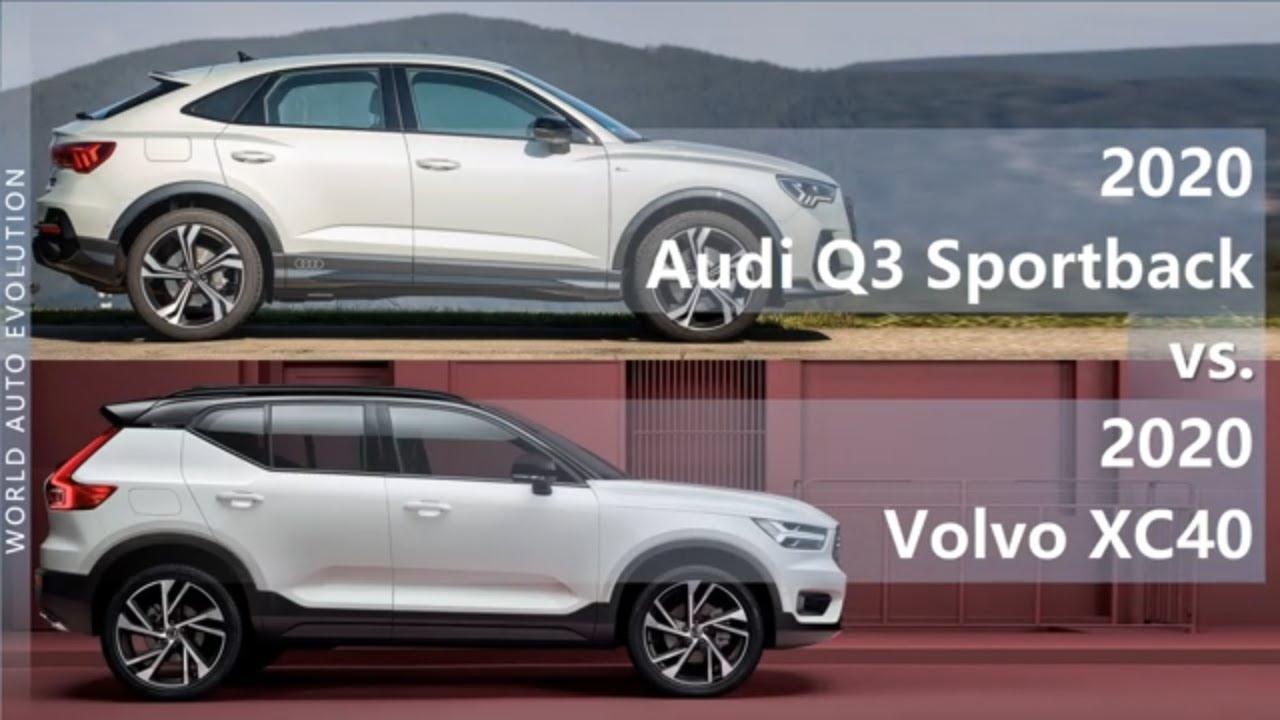 2020 Audi Q3 Sportback Vs 2020 Volvo Xc40 Technical Comparison Youtube