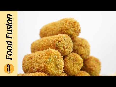 Spicy Fish Croquettes Recipe By Food Fusion