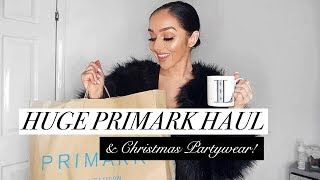 HUGE PRIMARK HAUL NOVEMBER 2018 // + £100 Giveaway + Try-on!!