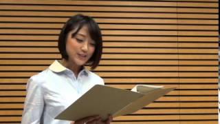 竹内由恵アナウンサー「ちょっと長い物語を、一人で全て担当しました。...