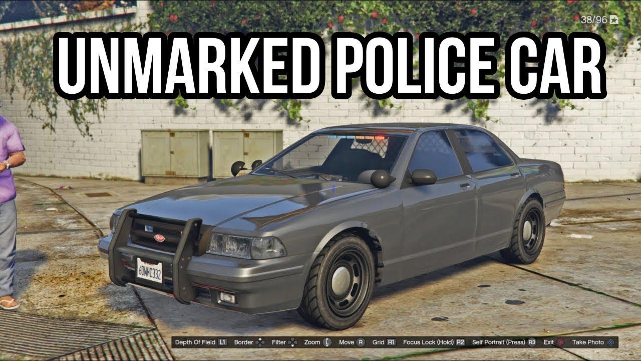 GTA 5: Unmarked Police Car Location Guide (PS4/GTA V/Crown Victoria)