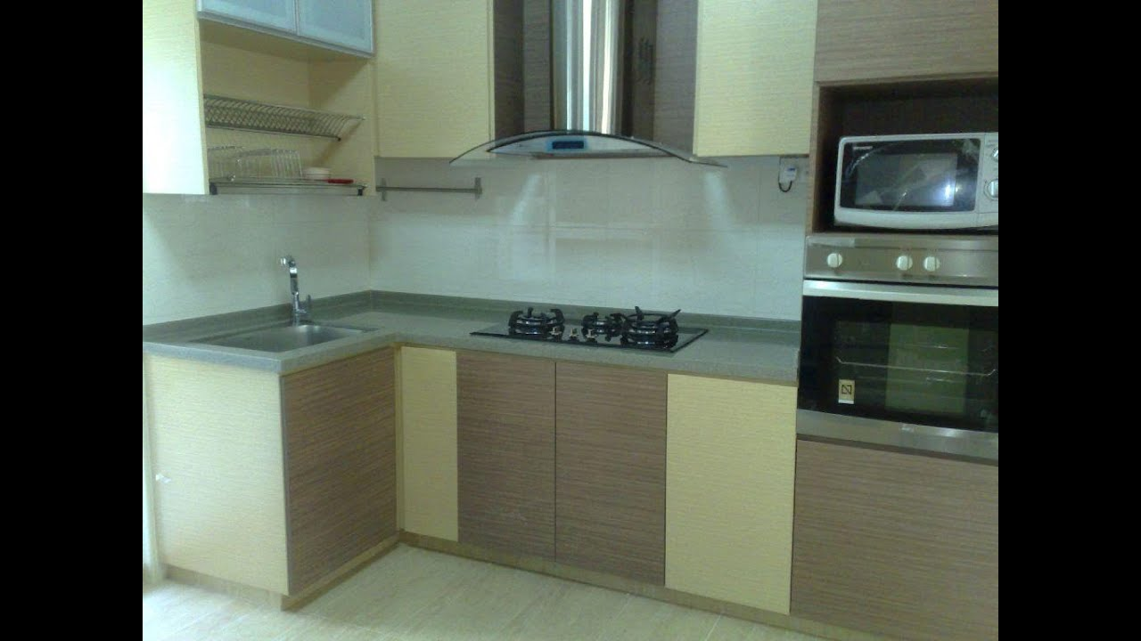Kitchen cabinets prices youtube Condo kitchen design philippines