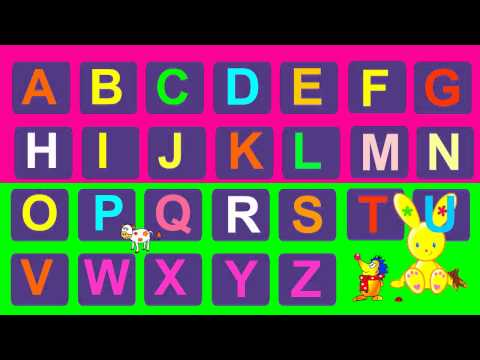 chanson de lAlphabet, en français  French ABC, alphabet song!  Frenchy Bunny: