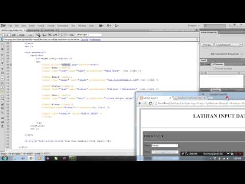 Tutorial Input Data Dengan HTML - PHP [Part 2 - Koneksi Ke Database]