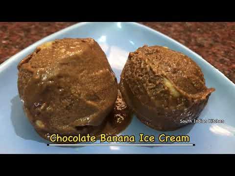 chocolate-banana-ice-cream-recipe- -keto-chocolate-banana-ice-cream- -healthy-ice-cream-at-home- 