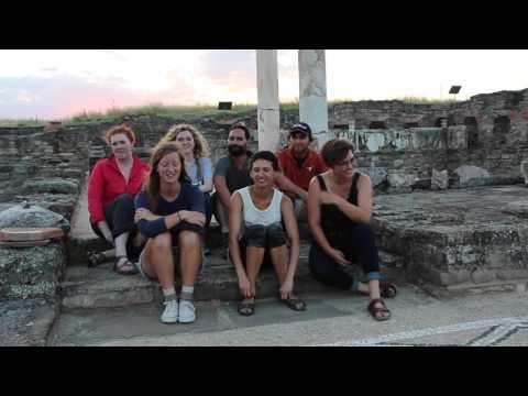 STUDENT TESTIMONIALS: The BHFS project at Stobi, Republic of Macedonia (2015)