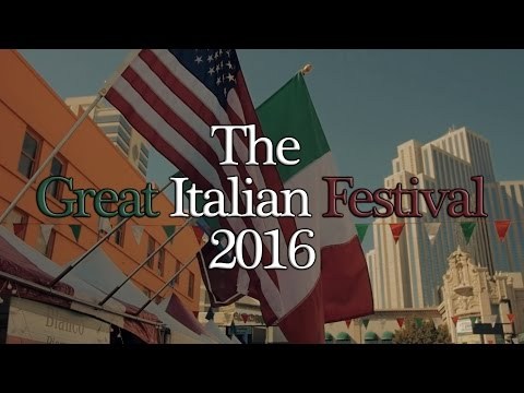 The Great Italian Festival 2016 - A GH4 Documentary (Downtown Reno, NV)