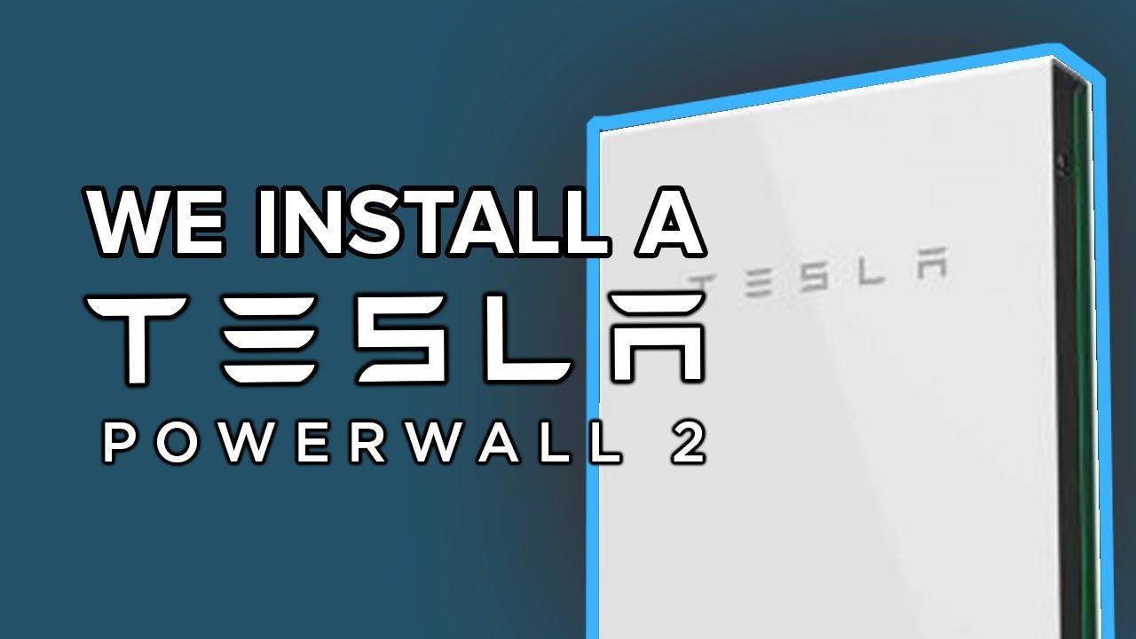 hight resolution of tesla powerwall 2 installation