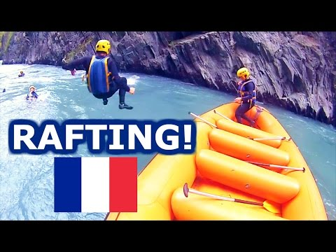 RAFTING! - TRAVEL VLOG 373 FRANCE | ENTERPRISEME TV