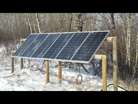 Bushcamp - Adding Way More Solar Power at the Offgrid Homestead