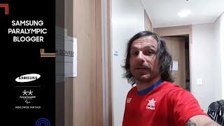 Fisioterapeuta equipo español | Víctor González | Samsung Paralympic Blogger