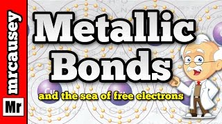 Metallic Bonds and the Sea of Free Electrons