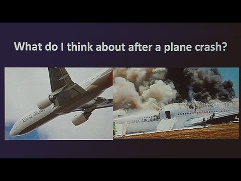 Disaster Response and the Asiana Plane Crash