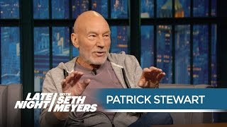 Patrick Stewart: Ronald Reagan Visited the Star Trek: The Next Generation Set