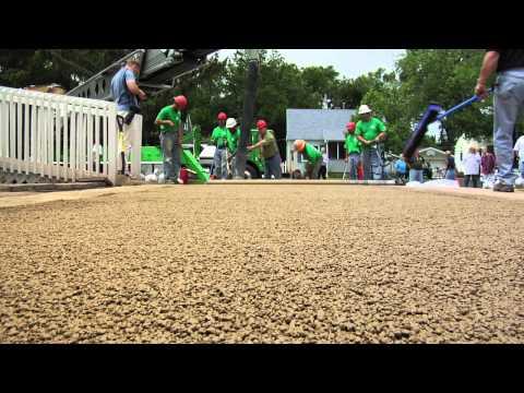 Filtercrete: Pervious Concrete Pavement