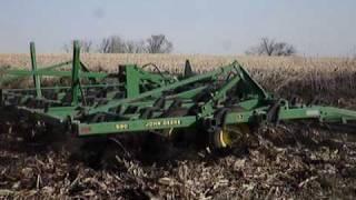John Deere 8200 Field Cultivating