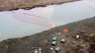 Разлив топлива в Норильске. Технологии очистки воды и земли. Россия 24
