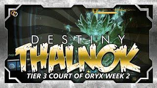 Court of Oryx - Tier 3 Antiquated Rune - Thalnok Fanatic of Crota