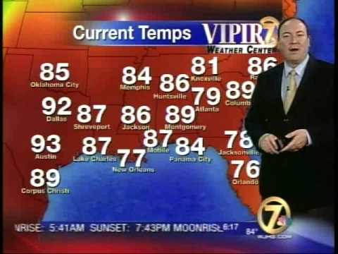 WJHG-TV June 8 5pm Weather Cast