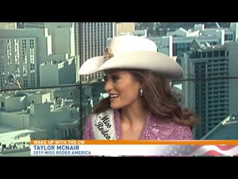 Taylor Mcnair Crowned Miss Rodeo America 2019 Youtube