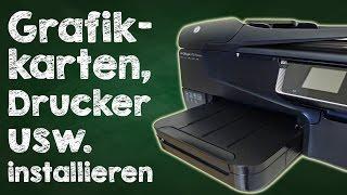 Linux Mint, Ubuntu Treiber installieren - Grafikkartentreiber, Druckertreiber, Anleitung auf Deutsch