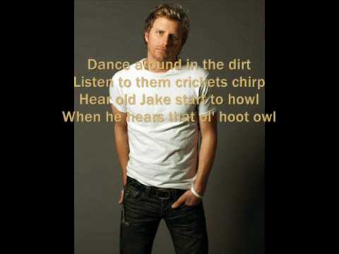 Up on the Ridge by Dierks Bentley WITH LYRICS ON ... - YouTube